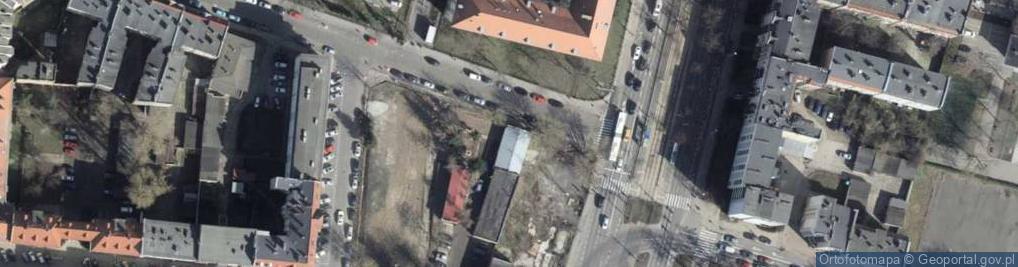 Zdjęcie satelitarne Ojca Augustyna Kordeckiego ul.