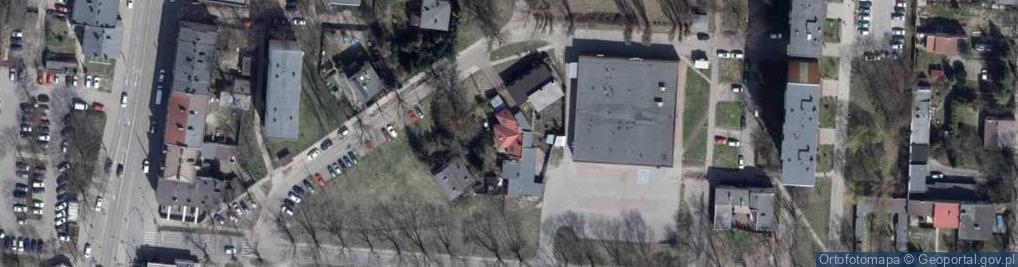 Zdjęcie satelitarne Okopowa ul.