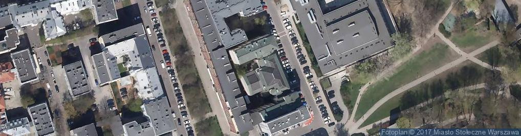 Zdjęcie satelitarne Okólnik ul.