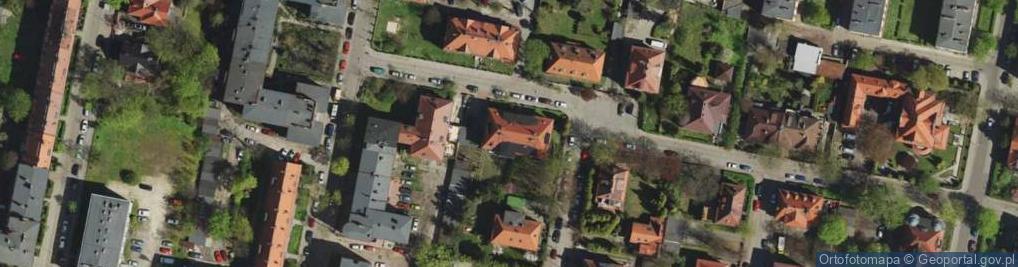 Zdjęcie satelitarne Olejniczaka Stanisława ul.