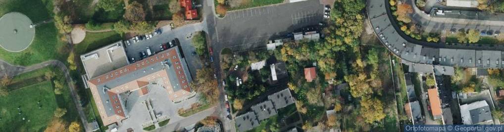 Zdjęcie satelitarne Oleńki ul.