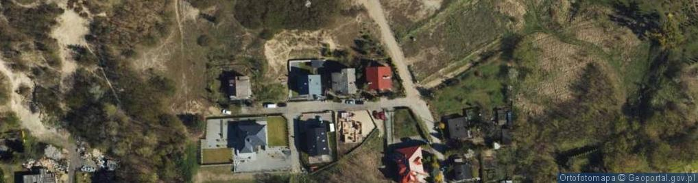 Zdjęcie satelitarne Oliwska ul.