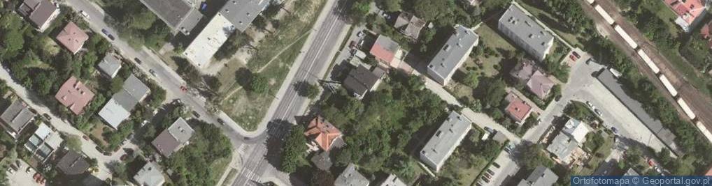 Zdjęcie satelitarne Olszyny ul.