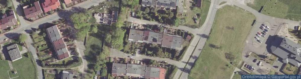 Zdjęcie satelitarne Olimpijska ul.