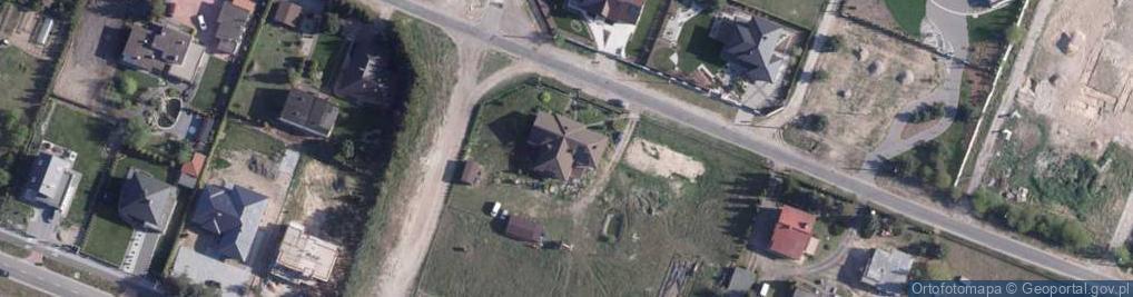 Zdjęcie satelitarne Olęderska ul.