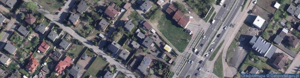 Zdjęcie satelitarne Olsztyńska ul.