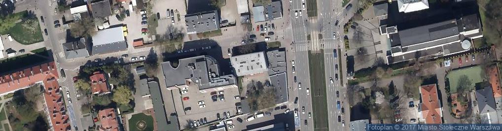Zdjęcie satelitarne Olkuska ul.