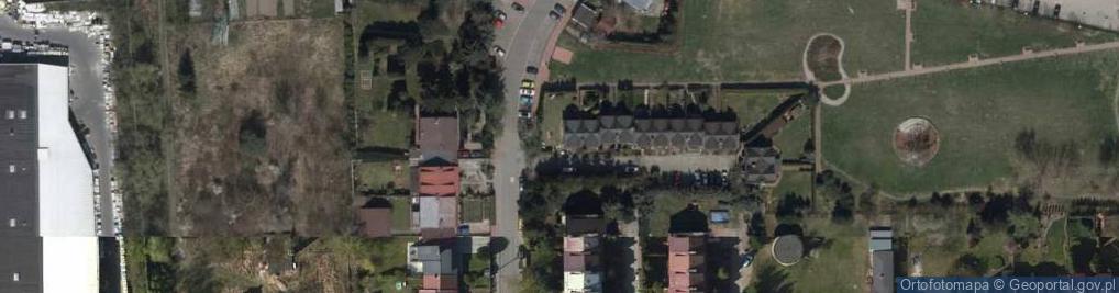 Zdjęcie satelitarne Onyksowa ul.