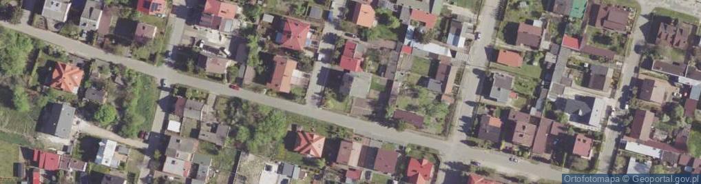 Zdjęcie satelitarne Opoczyńska ul.