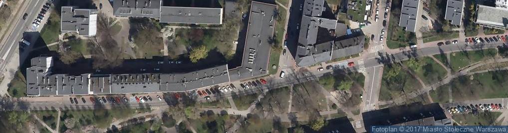Zdjęcie satelitarne Opaczewska ul.