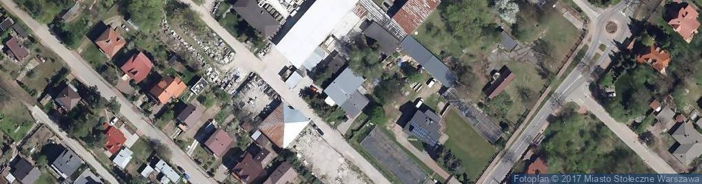 Zdjęcie satelitarne Optymistów ul.