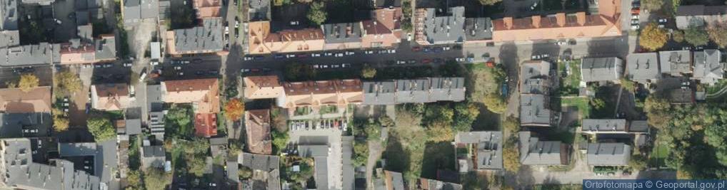 Zdjęcie satelitarne Opolska ul.