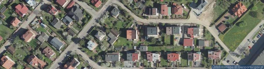 Zdjęcie satelitarne Orbitalna ul.
