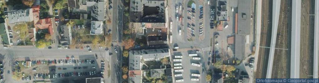 Zdjęcie satelitarne Orzechowskiego ul.