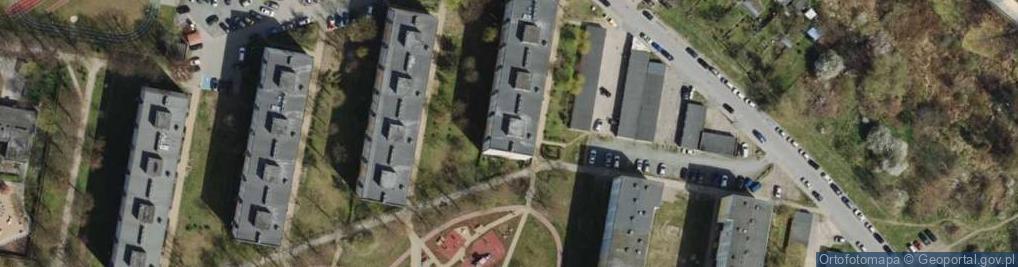 Zdjęcie satelitarne Orłowska ul.