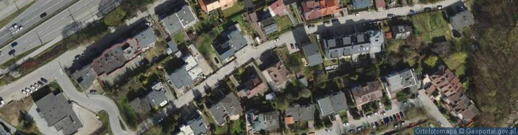 Zdjęcie satelitarne Orańska ul.