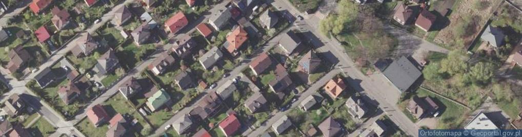 Zdjęcie satelitarne Orła Białego ul.