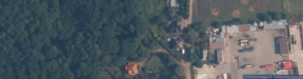 Zdjęcie satelitarne Orzechowa ul.