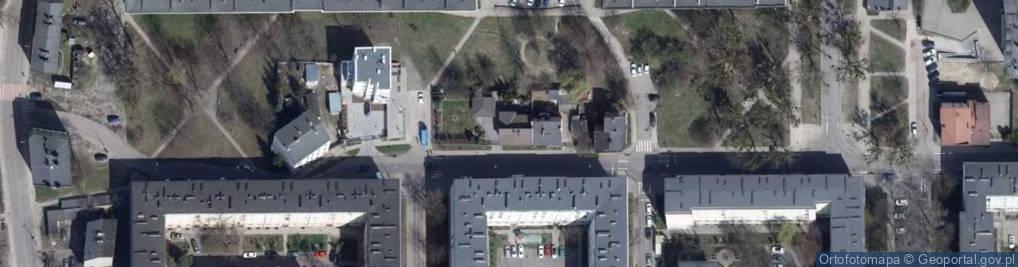 Zdjęcie satelitarne Organizacji Wolność i Niezawisłość ul.