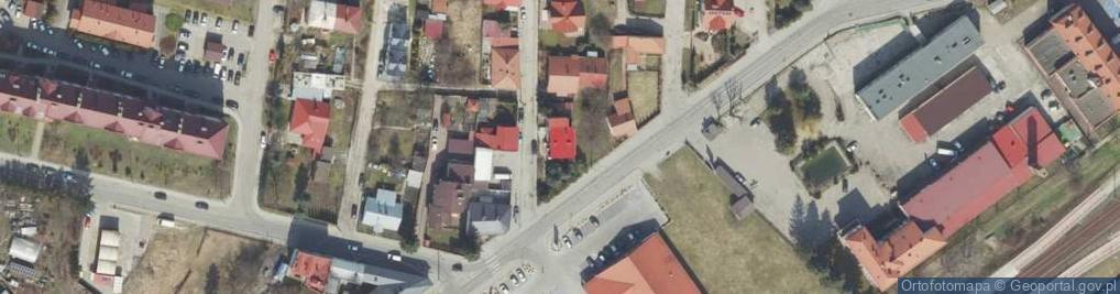 Zdjęcie satelitarne Ordona Juliana Konstantego ul.