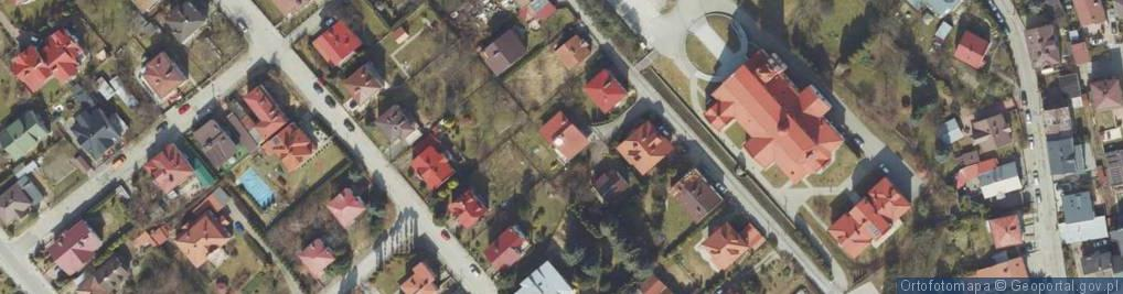 Zdjęcie satelitarne Orkana Władysława ul.
