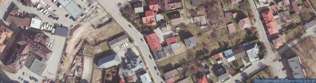 Zdjęcie satelitarne Orzeszkowej Elizy ul.