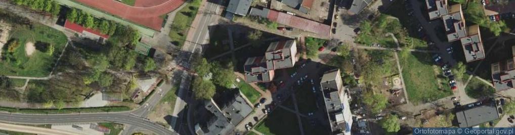 Zdjęcie satelitarne Ordonówny Hanki ul.