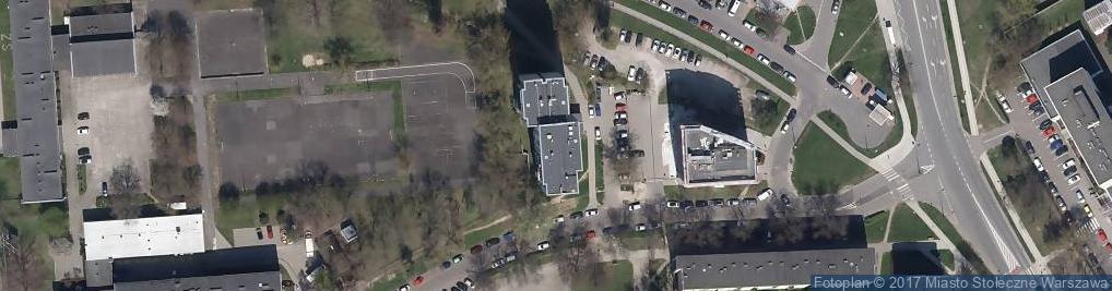 Zdjęcie satelitarne Orzycka ul.