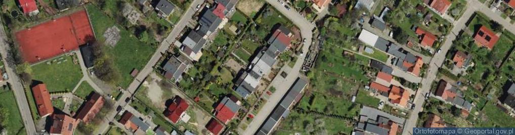 Zdjęcie satelitarne Ossolińskiego Jerzego ul.