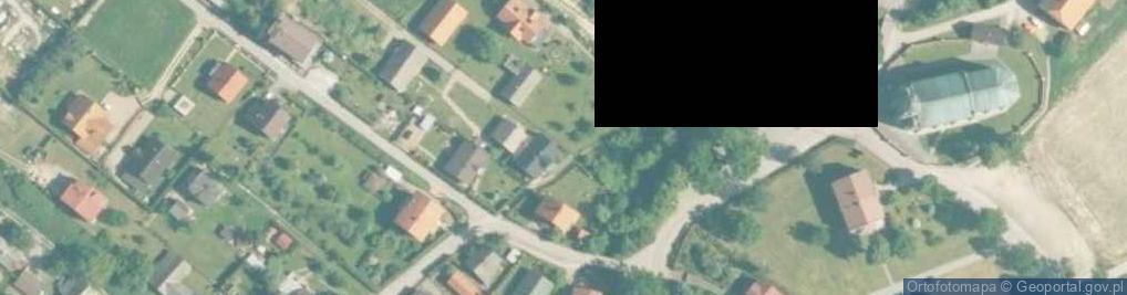 Zdjęcie satelitarne Osiedle Putka Józefa, dr. os.