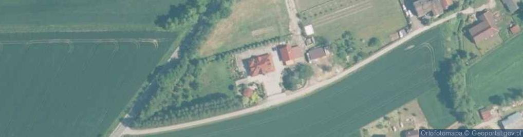 Zdjęcie satelitarne Osiedle Sikora os.