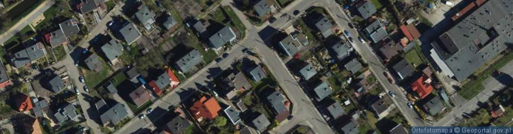 Zdjęcie satelitarne Ossowskiego ul.