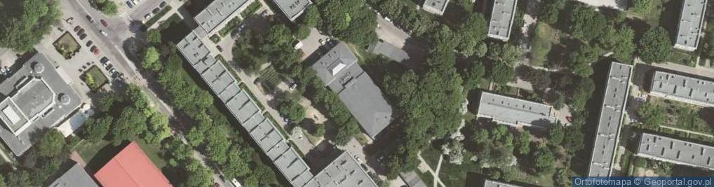 Zdjęcie satelitarne Osiedle Górali os.