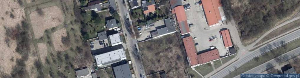 Zdjęcie satelitarne Oświatowa ul.