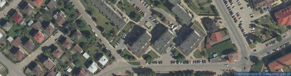 Zdjęcie satelitarne Osiedle Unii Lubelskiej os.