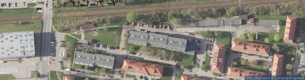 Zdjęcie satelitarne Osiedle Mickiewicza Adama os.