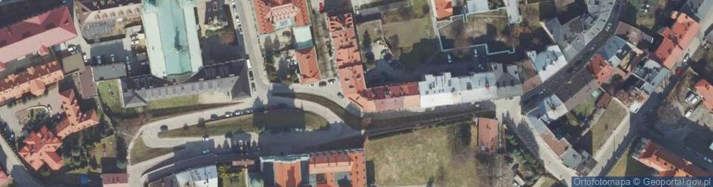 Zdjęcie satelitarne Osińskich Michała i Kazimierza ul.