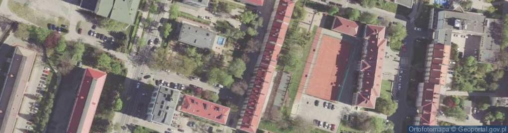 Zdjęcie satelitarne Osterwy Juliusza ul.