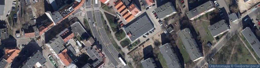 Zdjęcie satelitarne Osiedle Słowiańskie os.