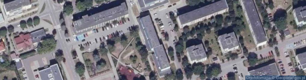 Zdjęcie satelitarne Osiedle Centrum os.