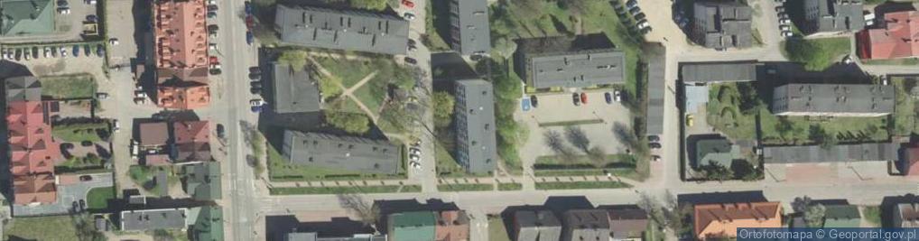 Zdjęcie satelitarne Osiedle II os.