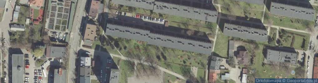 Zdjęcie satelitarne Osiedle Niepodległości os.