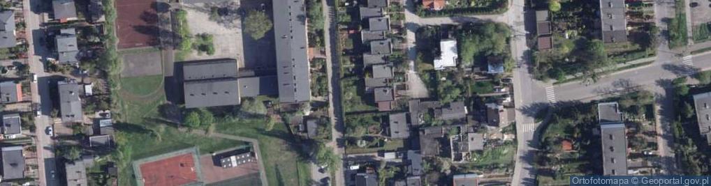 Zdjęcie satelitarne Osikowa ul.