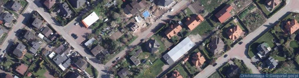 Zdjęcie satelitarne Ostrołęcka ul.