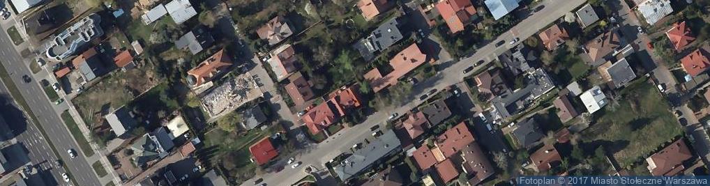 Zdjęcie satelitarne Ostra ul.