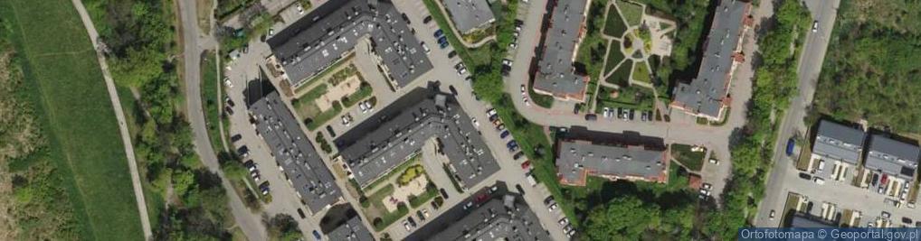 Zdjęcie satelitarne Osobowicka ul.
