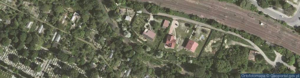 Zdjęcie satelitarne Otwinowskiego Stefana ul.