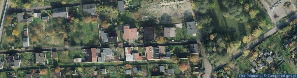 Zdjęcie satelitarne Papierowa ul.