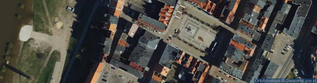 Zdjęcie satelitarne Pańska ul.