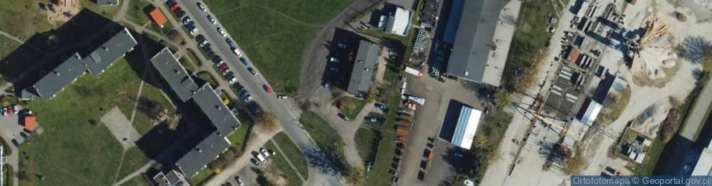 Zdjęcie satelitarne Parkowa ul.